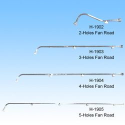 (H-1902/1903/1904/1905) Holes Fan Rod